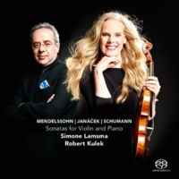 Simone Lamsma&Robert Kulek Sonata for Violin and Piano in D Minor, Op. 121, No. 2: II. Sehr lebhaft