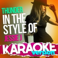 Ameritz Top Tracks Thunder (In the Style of Jessie J) [Karaoke Version]