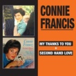 Connie Francis My Thanks to You + Second Hand Love