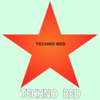 Techno Red Explosive Character