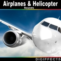 Digiffects Sound Effects Library Distant 4 Bell Augusta Passing Overhead