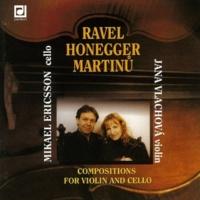 Jana Vlachova&Mikael Ericsson Sonatina for Vioin and Cello: II. Andante