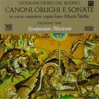 Symposium Musicum Canoni oblighi e sonate in varie maniere sopra l'ave Maris Stella: Canon a tre voci No. Orig. 31