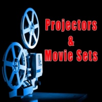 Sound Ideas 70mm Film Projector Rewinds to End