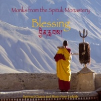 Monks from the Spituk Monastery Prayer dedicated to Nezer Gyalpo