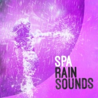 Spa Rain Sounds Rain on Canvas
