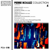 Soloists & Domaine Musical Ensemble&Pierre Boulez Structures for Two Pianos: Book I 1c. Assez Rapide