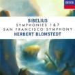 ヘルベルト・ブロムシュテット/サンフランシスコ交響楽団 Sibelius: Symphonies Nos. 1 & 7