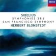 ヘルベルト・ブロムシュテット/サンフランシスコ交響楽団 Sibelius: Symphonies Nos. 3 & 6