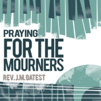 Rev. J.M. Gates Praying for the Mourners