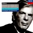 クリストフ・フォン・ドホナーニ/クリーヴランド管弦楽団 Webern: Orchestral Works