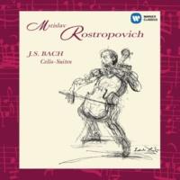 Mstislav Rostropovich Bach: Suites for Solo Cello Nos 1 - 6
