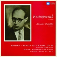 Mstislav Rostropovich Brahms: Cello Sonata No. 2 & Works by Popper, Debussy & Scriabin