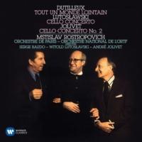 Mstislav Rostropovich Cello Concerto (Tout un monde lointain): IV. Miroirs [Lent et extatique]