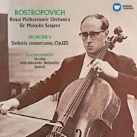 Mstislav Rostropovich Prokofiev: Sinfonia concertante, Rachmaninov: Vocalise