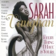 Sarah Vaughan Every Thing I Have Is Yours