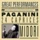 Midori Paganini: 24 Caprices for Solo Violin, Op. 1
