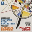 "Philippe Jordan Mussorgsky: Pictures at an Exhibition - Prokofiev: Symphony No. 1, ""Classical"""