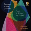 エマーソン弦楽四重奏団 Chaconnes and Fantasias: Music of Britten and Purcell