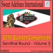 Various Artists from Sweet Adelines International 2016 Sweet Adelines International Quartet Competition - Semi-Final Round - Volume 2