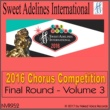 Various Artists from Sweet Adelines International 2016 Sweet Adelines International Chorus Competition - Final Round - Volume 3