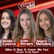 Duda Castro/Gabi Borges/Joyce Mendes Olha O Que O Amor Me Faz / Citação: All By Myself [Ao Vivo / The Voice Brasil Kids 2017]