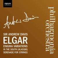 アンドリューデイヴィス & フィルハーモニア管弦楽団 Variations on an Original Theme for orchestra (Enigma) : Theme (Andante) Enigma
