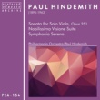 Paul Hindemith Sonata for solo viola, Op. 251: I. Breit