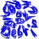 BLUEROSIDS DEBRIS