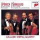 Juilliard String Quartet VERDI AND SIBELIUS QUARTETS