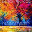 Samson François Concerto for Piano & Orchester No. 1 in E-Flat Major, S. 124: II. Quasi adagio
