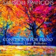 Samson François Concerto for Piano & Orchester No. 1 in E-Flat Major, S. 124: III. Allegro vivace