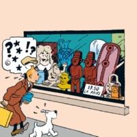 Tintin/Tomas Bolme/Bert-Åke Varg Det sönderslagna örat