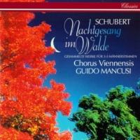 コルス・ヴィエネンシス/グィド・マンクージ Schubert: Vorüber die stöhnende Klage, D. 53