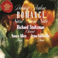 Richard Stoltzman Sonata for Clarinet and Piano, FP. 184: I. Allegro tristamente