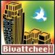 BIVATTCHEE 青いカラス