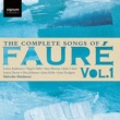 Ann Murray/Joan Rodgers/Lorna Anderson/Malcolm Martineau The Complete Songs of Fauré, Vol. 1