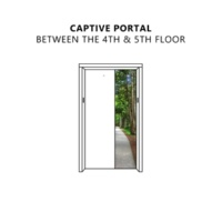 Captive Portal Between the 4th & 5th Floor