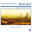 Carmen Piazzini Mozart: Sonatas for Piano No. 10, 11 + 18
