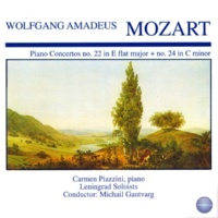 Carmen Piazzini Concerto for Piano and Orchestra No. 22 in E Flat Major, KV 482: II. Andante