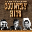 Various Artists 25 Hard To Find Country Hits