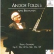 Andor Foldes Piano Sonata No.9 in E Major, Op. 14 No.1: III. Rondo. Allegro comodo
