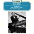 Emil Gilels Prokofiev: Piano Sonata No. 8, Op. 84 & Visions Fugitives, Op. 22 Excerpts