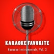 Various Artists Karaoke Instrumentals, Vol. 3