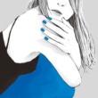 ART-SCHOOL スカートの色は青