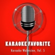 Various Artists Karaoke Wahnsinn, Vol. 5