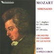 "Orchestre de Chambre de Lausanne Mozart: Serenade No. 7 in D Major, K. 250 ""Haffner"" - Serenade No. 1 in D Major, K. 100"