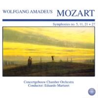 Concertgebouw Chamber Orchestra&Eduardo Marturet Symphony No. 21 in A Major, KV 134: II. Andante