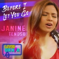 Janine Teñoso Before I Let You Go Live! On Air