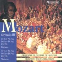 """Orchestre de Chambre de Lausanne Serenade No. 6 in D Major, K. 239 """"Notturna"""": III. Rondo. Allegretto - Adagio - Allegro"""